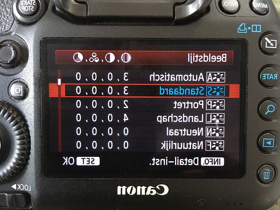 Hoe moet ik mijn camera instellen?